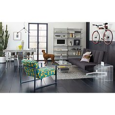 Specs Chair Trefoil in chairs | CB2