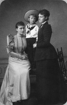1891 Ella & Alexandra of Hesse