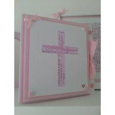 Bespoke Christening Baptism Card