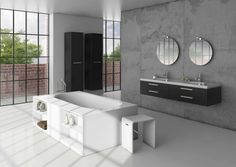 Free standing bath and modern bathroom inspiration