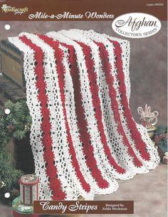 Crochet Afghan Pattern Home Decor Bedspread by KnitKnacksCreations