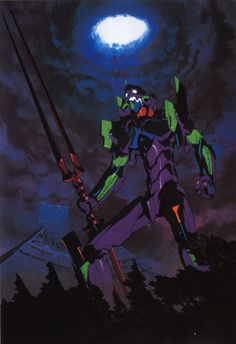 1k anime my post neon genesis evangelion evangelion nge Eva Unit 01 0ci0 NGE