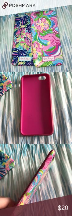 Lilly Pulitzer Phone Cases IPhone 6/6s I have no use for these anymore that's why I'm selling and super cute in good condition (not new with tags) Lilly Pulitzer Accessories Phone Cases