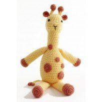 Amigurumi Georgina the Giraffe in Lion Brand Vanna's Choice Baby - Digital Version
