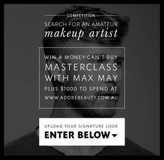 Search for an Amateur Makeup Artist