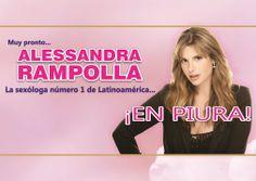 Alessandra Rampolla en Piura.