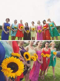 Sunflowers as bouquets?