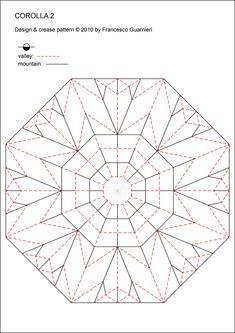 COROLLA 2 (Crease Pattern) | Flickr - Photo Sharing!