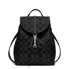 The Coach Classic Small Backpack In Signature Fabric from Coach