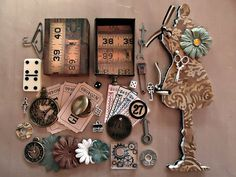 I Have Something Tim Holtz Tag Game