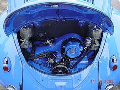Resultado de imagen para fusca con motor azul Volkswagen, Fusca German Look, Bus Engine, Vw Cars, Boxer, Vw Beetles, Muscle Cars, Porsche, Engineering