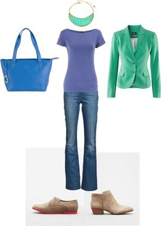 """""""outfit 4"""" by jenr8 on Polyvore"""
