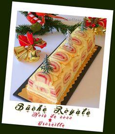 Comme promis dans le précédent message, voici ma bûche réalisée pour le Noël 2016. J'ai pris beaucoup de plaisir à la réaliser même, si au... Mousse, Buttercream Cake, Christmas Baking, Coco, Chocolate Cake, Deserts, Gift Wrapping, Recipes, Cakes