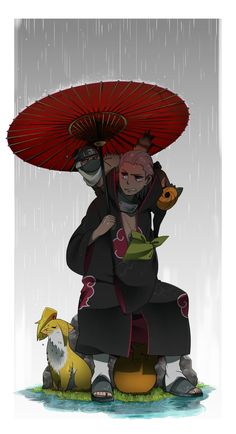 Hidan and his litle guys