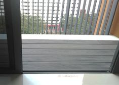 Reinvent the design of your patio or balcony with one of our composite wood deck designs in Singapore. Contact us today to learn more. Outdoor Decking, Wpc Decking, Wood Deck Designs, Composite Decking, Balcony, Blinds, New Homes, Home Appliances, Weather