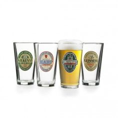 Verres à bières Irish beer, 4 mcx