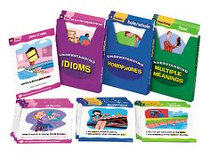 Tricky Words & Phrases Teaching Cards - Set 1 at Lakeshore Learning