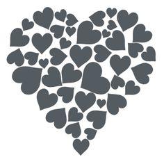 Rey de corazones- vinilo decorativo amor