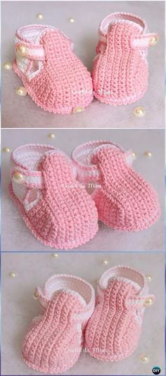 Crochet Locus Booties Free Pattern Video --Crochet Baby Booties Slippers Free Patterns