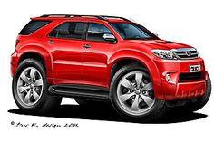 Hot Rod Pickup, Truck Art, Honda Crv, Car Gadgets, Bugatti Chiron, Toyota Hilux, Car Drawings, Pedal Cars, Automotive Art