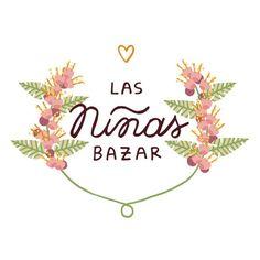 Logo para la tienda de ropa Las Niñas Bazar