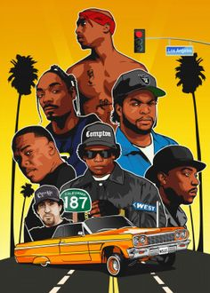 West Coast hip hop detailed, premium quality, magnet mounted prints on metal designed by talented artists. Our posters will make your wall come to life. Tupac Wallpaper, Rap Wallpaper, Dope Cartoon Art, Dope Cartoons, Swagg Man, Arte Do Hip Hop, Tupac Art, Tupac Pictures, Looks Hip Hop