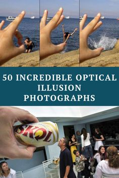 Optical illusions are images that deceive our brains into seeing something that is not really there. A combination of patterns and colors creating a misleading image is what makes an optical illusion unique. We have collected 50 amazing optical illusions that will surely blow your mind away. Are your eyes ready?