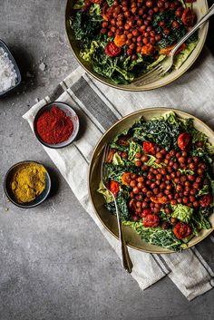Massaged Savoy Cabbage Salad