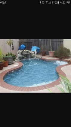 Cocktail Pool Designs For Small Backyards   Spools (Small Pools) | Klein  Custom Pools | Garden 2 | Pinterest | Beams, Marbles And Small Pools