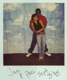 Jasmine Guy and TuPac PEAK BLACKNESS