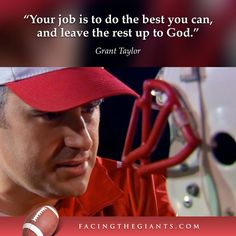 facing the giants quotes Christian Girls, Christian Movies, Christian Quotes, Quotable Quotes, Faith Quotes, Bible Quotes, Qoutes, Religious Quotes, Spiritual Quotes