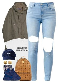 """Untitled #1512"" by power-beauty ❤ liked on Polyvore featuring Violeta by Mango, MCM, NIKE and Chanel"