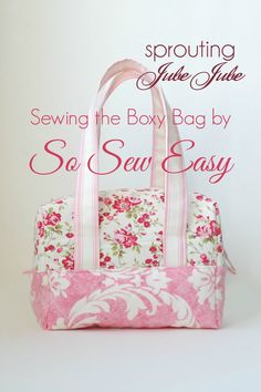 The Boxy Bag Pattern by So Sew Easy is a fun sew and as soon as I was  finish. 947259096e