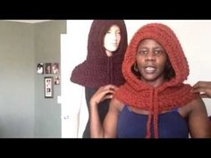To learn how to crochet this hooded cowl/ neckwarmer, click here: https://www.youtube.com/watch?v=xd_GVBvy85k&feature=youtu.be www.etsy.com/shop/africancrab ...