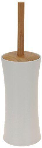 Set De Baño Bambu Dupree:BBTradesales – Escobilla de baño (bambú y porcelana) de BBTradesales