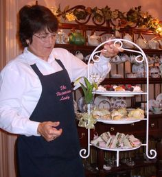 Menus for tea parties are the key to a successful experience. I've had 5 years in preparing menus for my tea room and have discovered a few basic rules. Afternoon Tea Recipes, Afternoon Tea Parties, Tea Party Menu, Tea Party Recipes, High Tea Recipes, Tea Party Sandwiches, Finger Sandwiches, High Tea Food, Brunch
