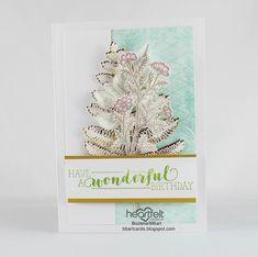 Heartfelt Creations, Poinsettia, Place Cards, Scrapbooking, Place Card Holders, Birthday, Birthdays, Scrapbooks, Memory Books