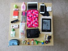 What's in my bag.
