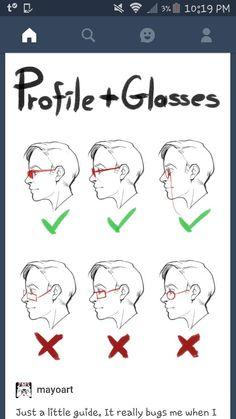 Profile glasses