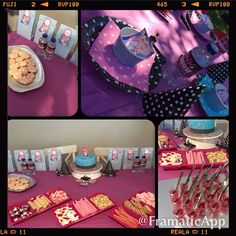 Pink Panther Birthday Party decorating ideas