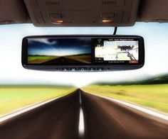 Keep your eyes on the road, look out for tailgaters, and navigate all at the same time with the touchscreen rear view mirror with a built in GPS navigation...