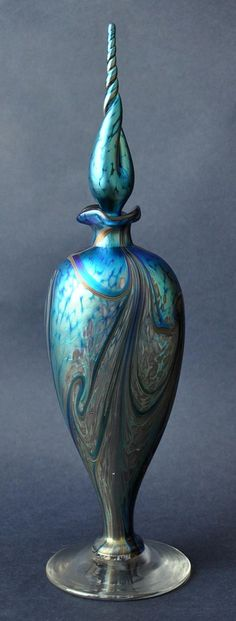 Richard Golding Glass Perfume Bottle