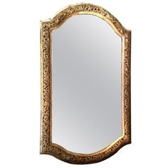Monumental 19th Century Italian Giltwood Mirror