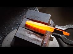 Forging a Center Punch - YouTube