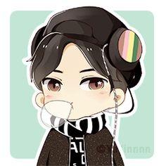 ji chang wook chibi, it's very cute!