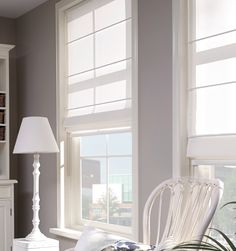 The warm look and feel of the always popular Roman blinds creates a personal touch in your home. Our natural textiles and subtle colours are available in both daylight and blackout options.