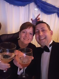 James and Michelle Sutton from eye health company Butterflies Healthcare win Cherwell Business Award