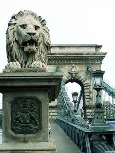 Budapest - Lánchíd (Chain Bridge) by jaime.silva, via Flickr