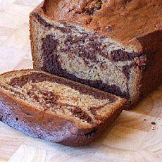 Marbled Chocolate- Banana Bread Recipe