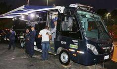 Ônibus reforça Segurança no entorno da Fundação Sto.André